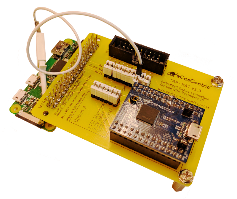 The eCosCentric TAP-HAT for the Raspberry Pi